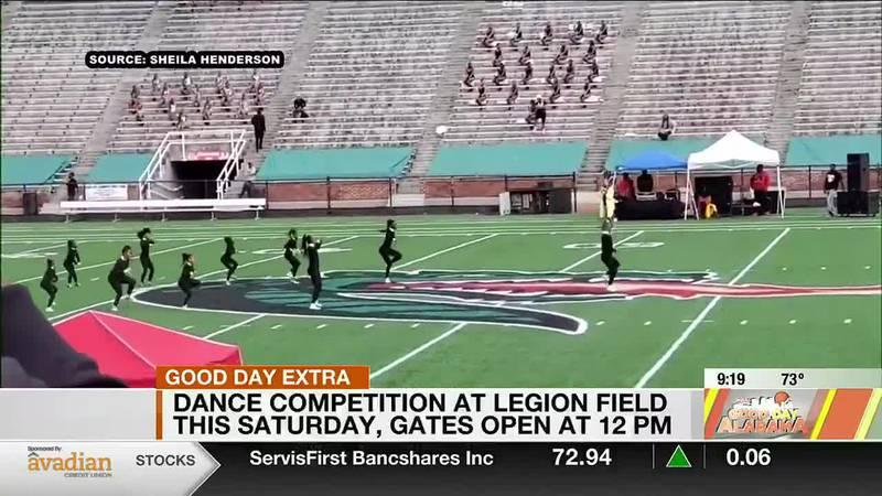 Dance competition at Legion Field