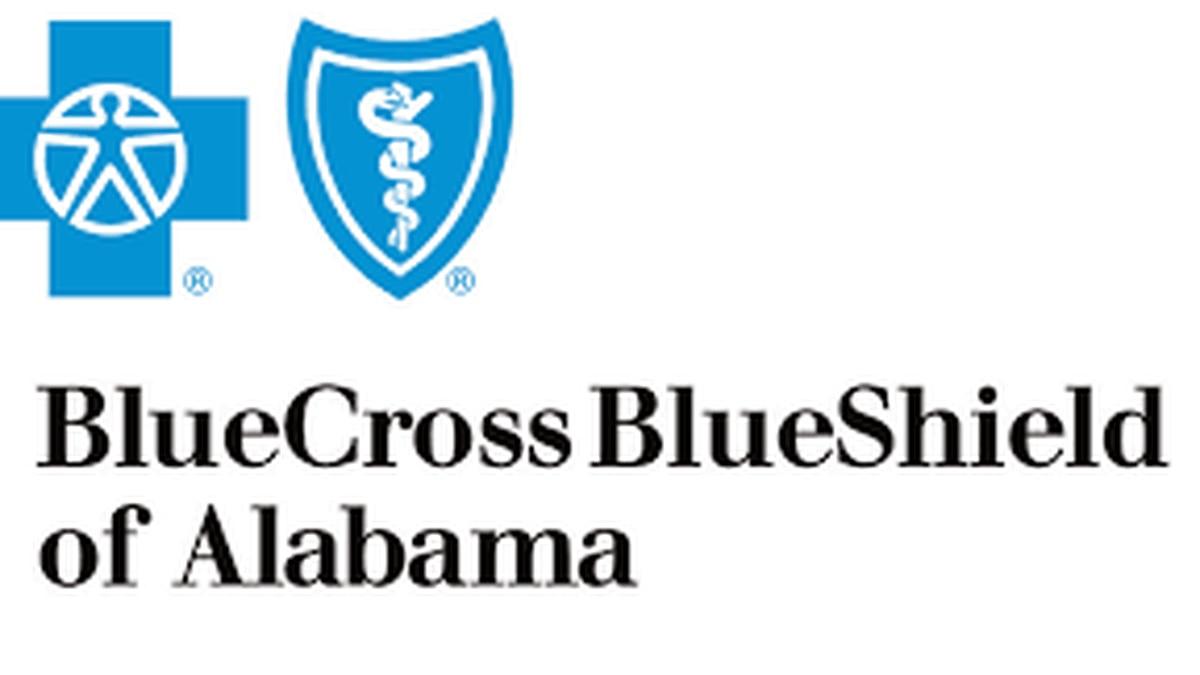 Blue Cross and blue Shield of Alabama.
