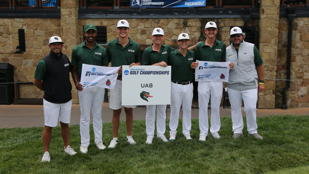 UAB men's golf team engineered a miraculous comeback to finish fifth at the NCAA Noblesville...