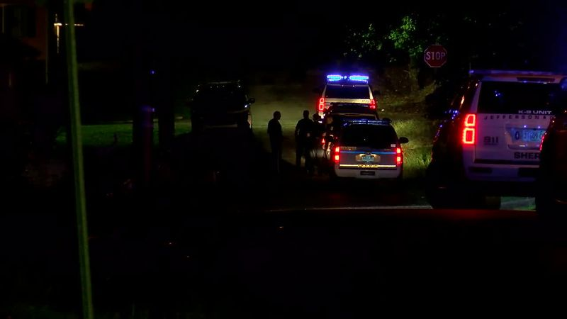 Police activity in Ensley