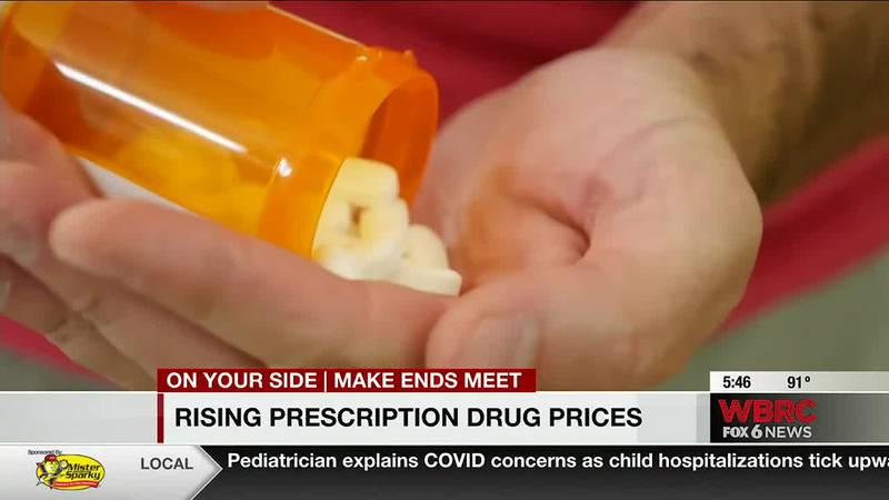 Rising prescription drug prices