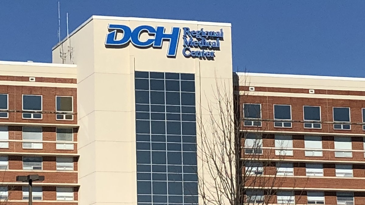 The front of DCH Regional Medical Center