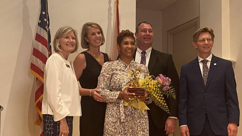 Kimberly Christian Johnson named Alabama Teacher of the year.