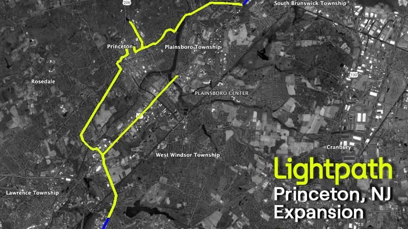 Lightpath - Princeton, NJ Network Map