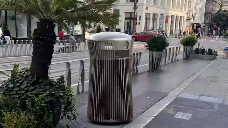 San Francisco's Department of Public Works wants to replace 3,000 existing trash cans. The...