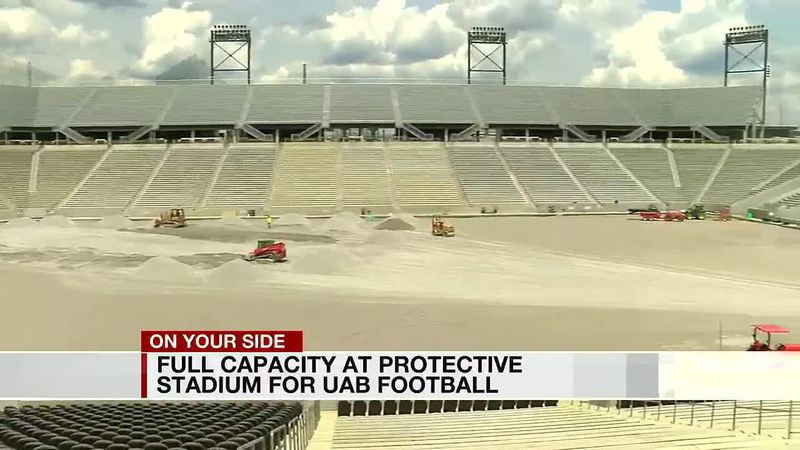 Full capacity at Protective Stadium for UAB Football