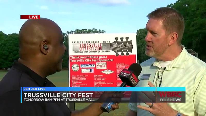 The 39th annual Trussville City Fest will be Saturday, May 4. (Source: WBRC)
