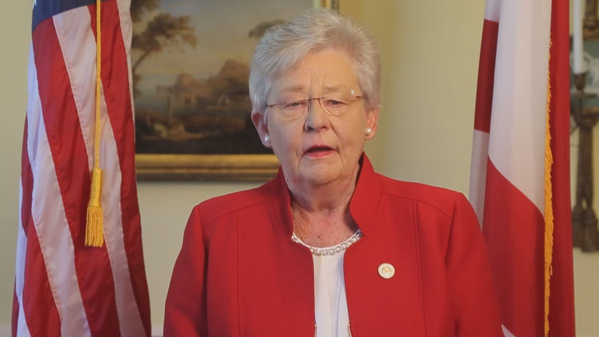 Alabama Governor Kay Ivey apologies after blackface controversy surfaces this week.