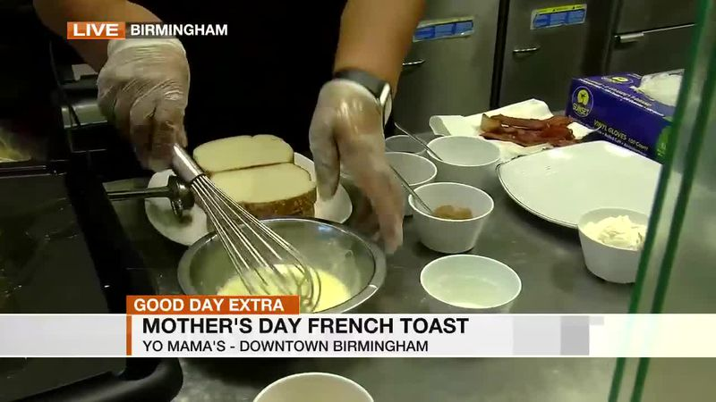 Mother's Day French Toast from Yo-Mama's
