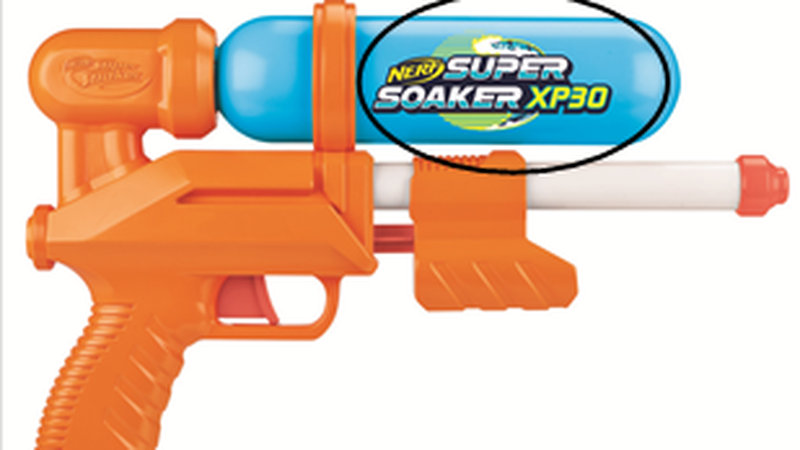 The Nerf Super Soaker XP 30 was sold for $13 at Target.