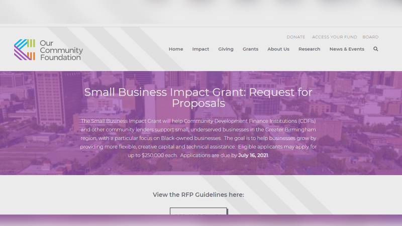 his grant will help Community Development Finance Institutions, or CDFIs, and other community...