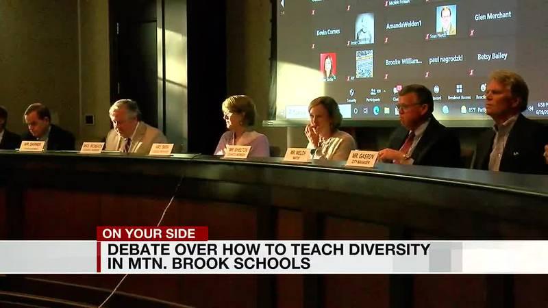 Debate over how to teach diversity in Mountain Brook schools