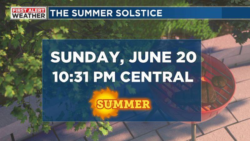 First Alert Weather Summer Solstice