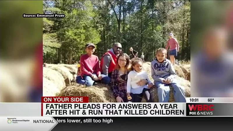 Father pleads for answer a year after hit & run that killed children