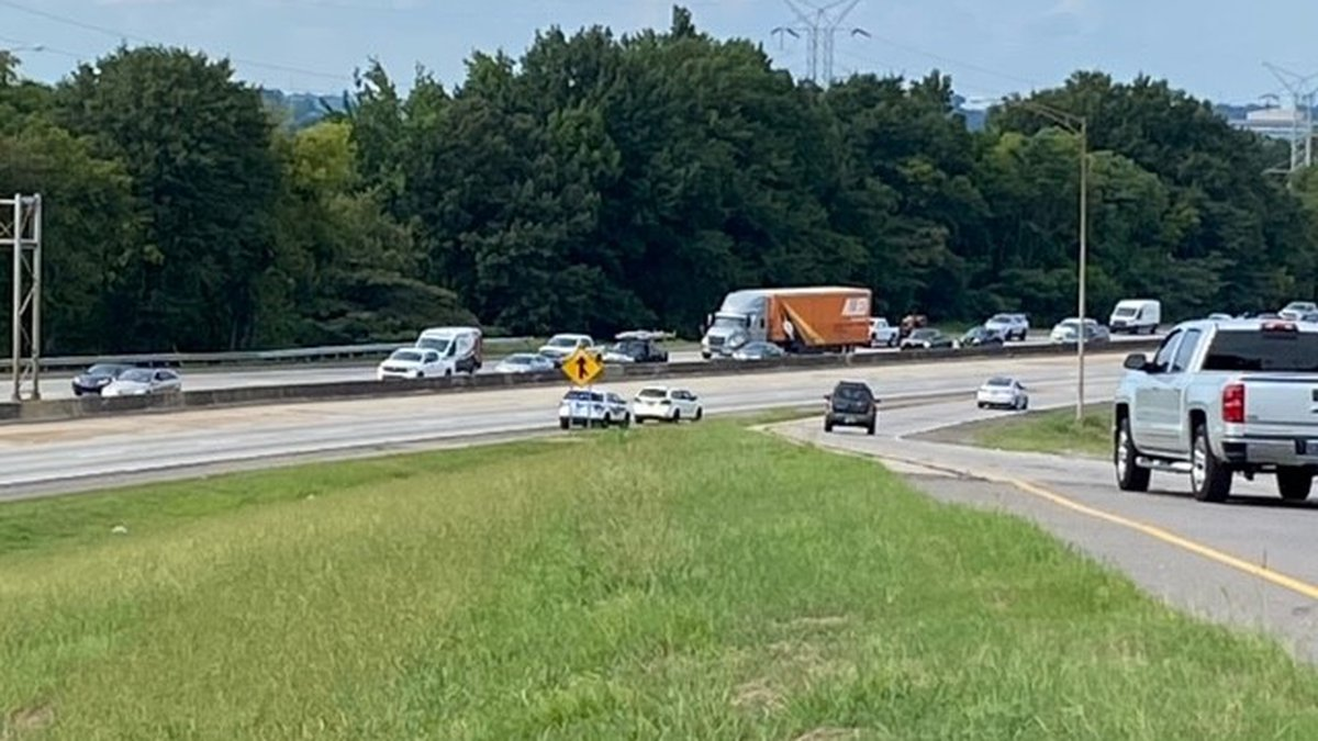 I-65N near Green Springs exit closed after pedestrian struck and killed