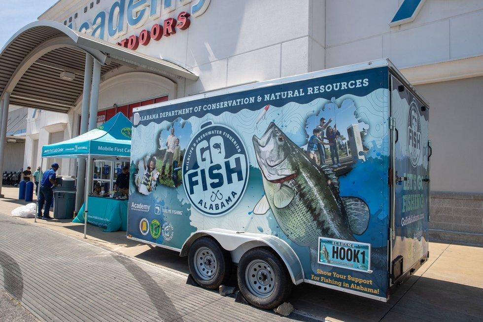 Go fish, Alabama.