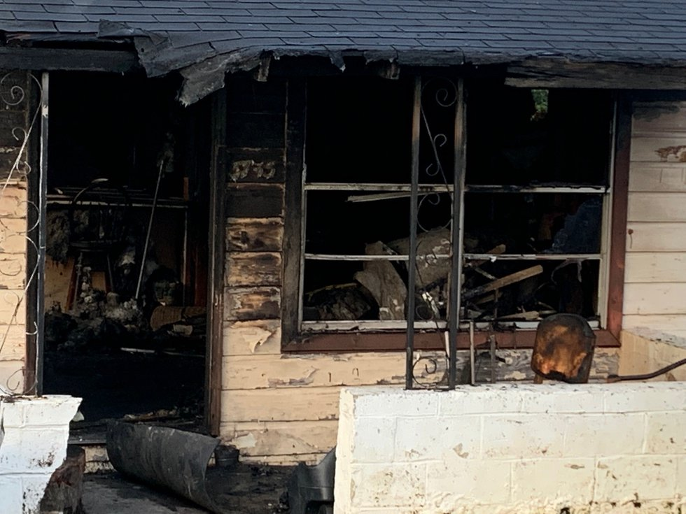 Fatal house fire.