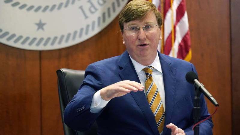 Mississippi Gov. Tate Reeves announces 13 additional counties that have qualified and met...