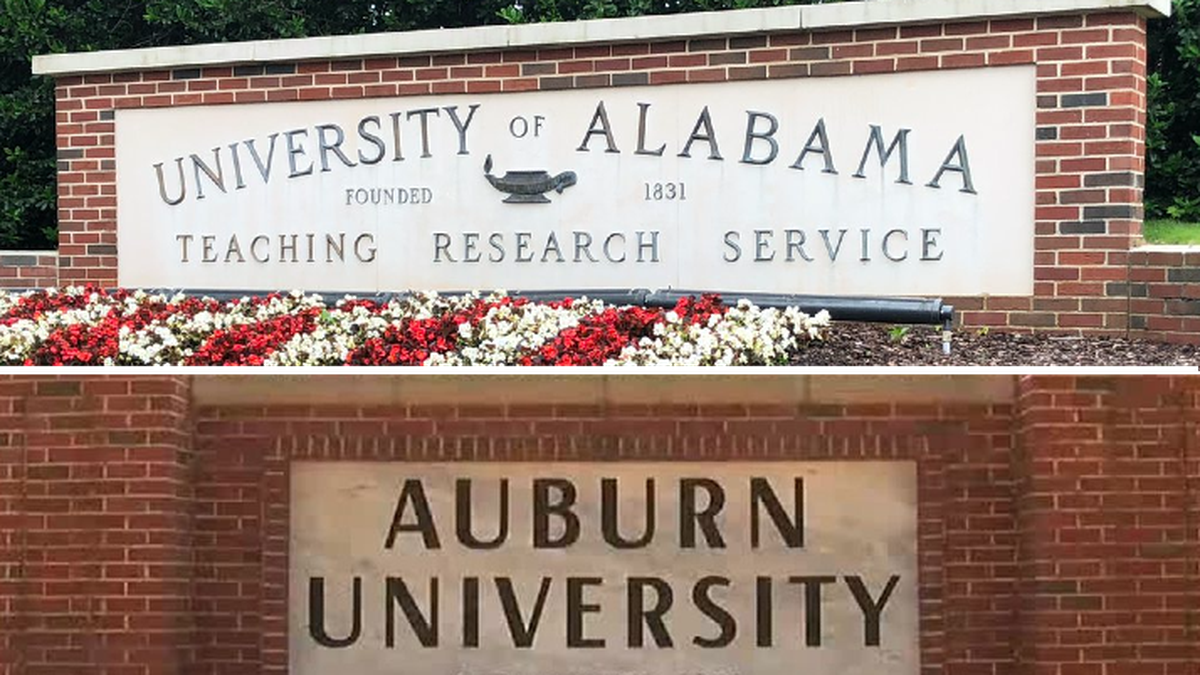 Auburn University and the University of Alabama are offering incentives for vaccination of...