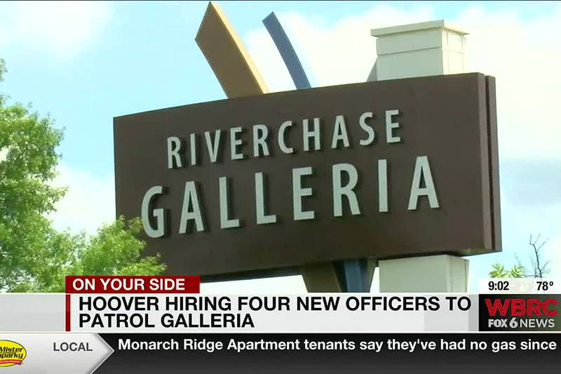 Hoover hiring four new officers to patrol Galleria