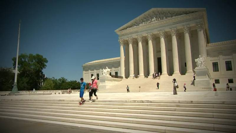 The US Supreme Court with two major rulings today -- first, the high court throwing out a...