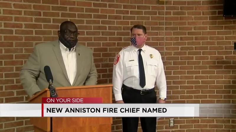 New Anniston fire chief.