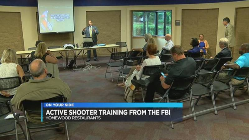 Active shooter training for restaurant owners