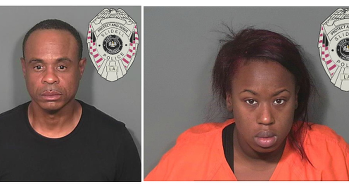 23-year-old, Angelica Stanley, (right) and 51-year-old, Ellis Cousin