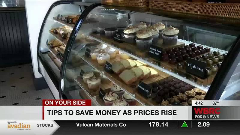 Saving money as prices rise