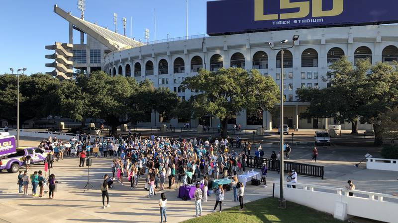 LSU student protest