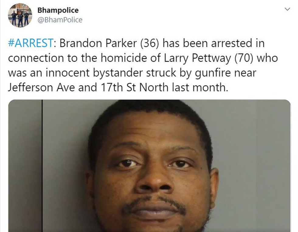 Arrest in bystander's death