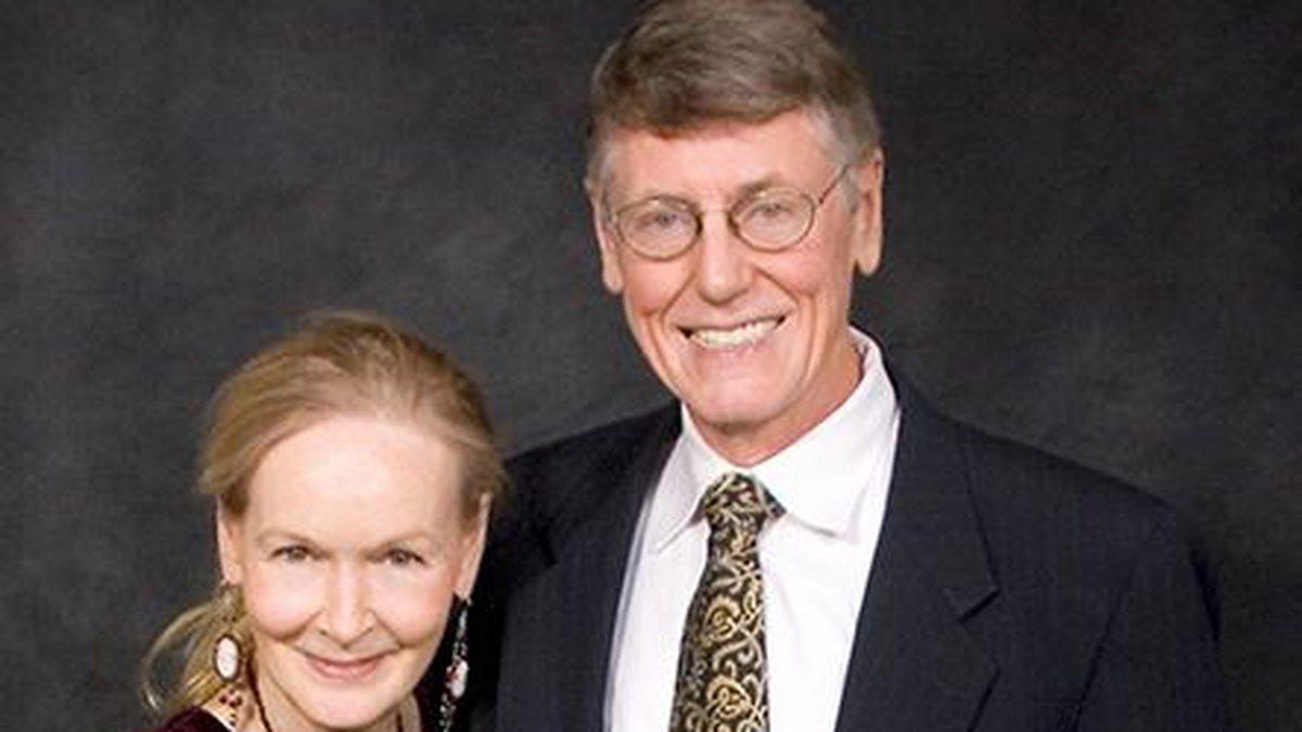 Dr. Marnix E. Heersink and wife, Mary Heersink