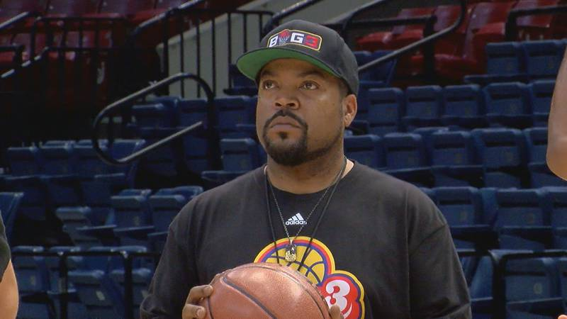 Ice Cube when BIG 3 Basketball League played in Birmingham