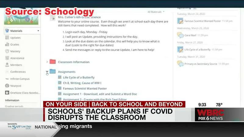 Schools' backup plans if COVID disrupts the classroom