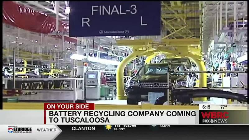 Battery recycling company