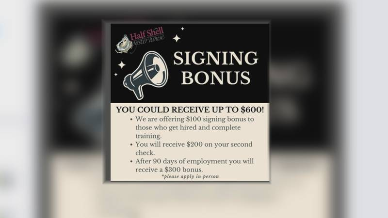 With that big worker shortage around the country,  businesses are offering more incentives to...