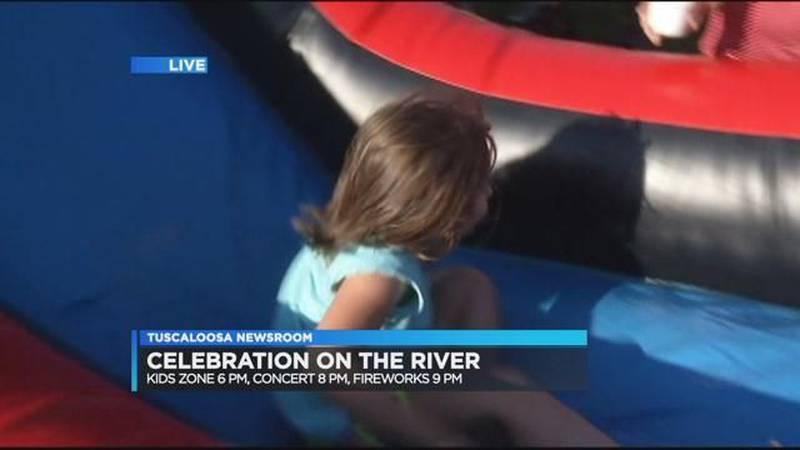 'Celebration on the River' in Tuscaloosa