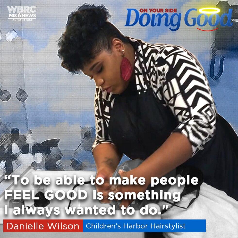 """Danielle Wilson """"Doing Good"""" at Children's Harbor Family Center"""