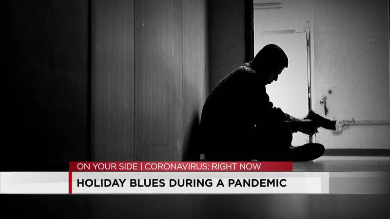 Holiday blues during a pandemic