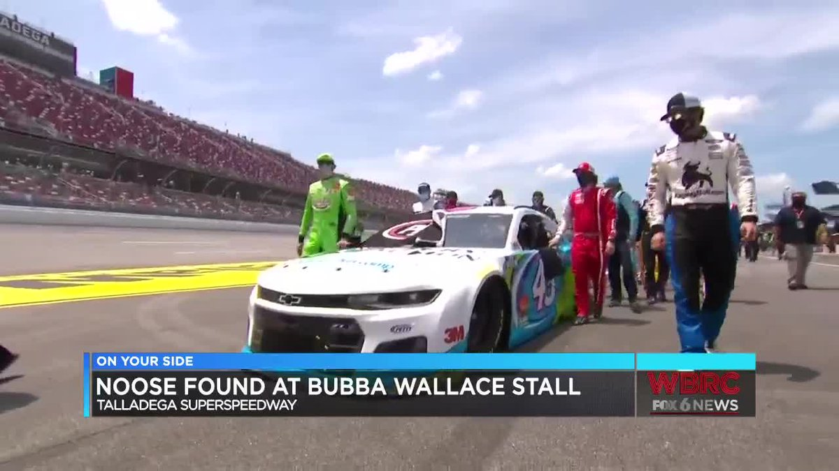 Noose found at Bubba Wallace stall