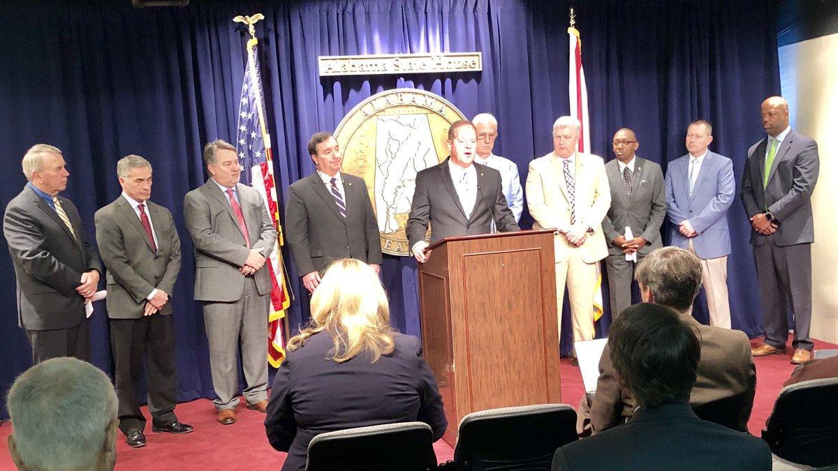 Sen. Cam Ward announced bipartisan legislative effort to address prison crisis