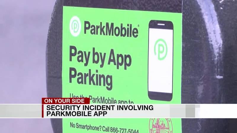 Parking app breach