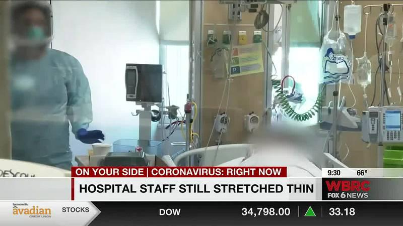 Hospital staff still stretched thin
