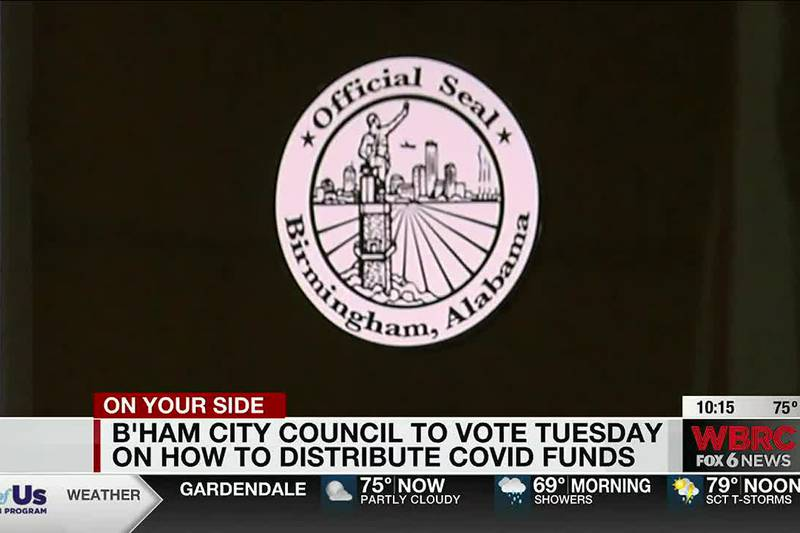 Bham to vote on COVID funds