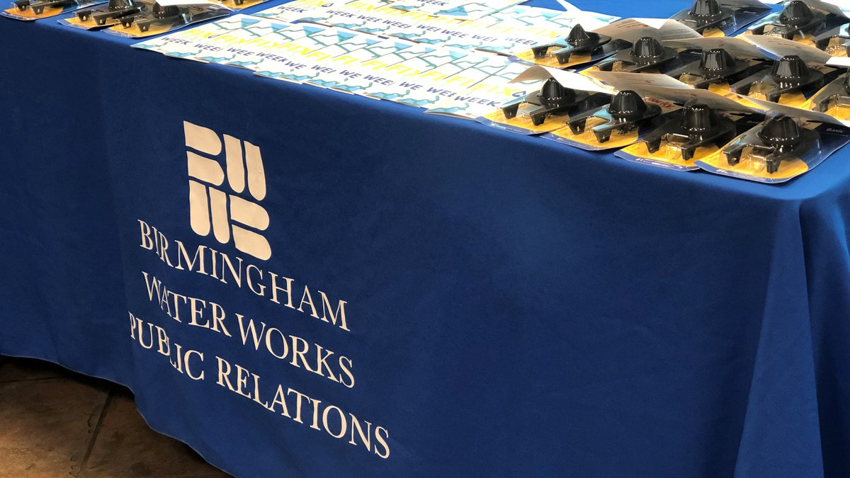 Birmingham Water Works campaign to stop leaks