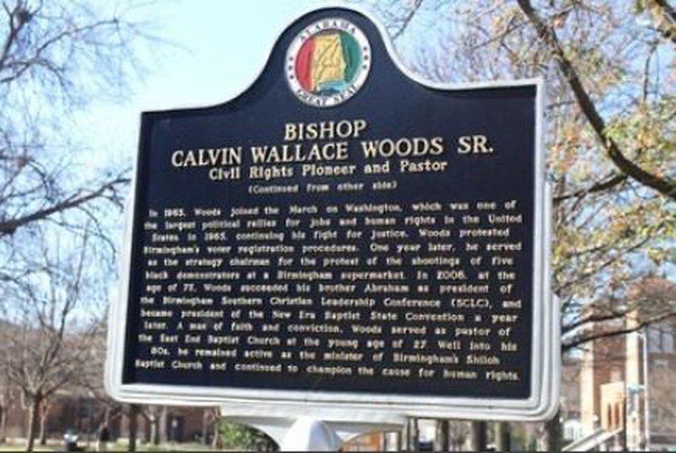 Bishop Calvin Woods' landmark destroyed (Before it was destroyed)