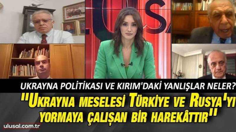 National Channel's News Center: experts discuss Turkey's policy for Ukraine and the mistakes in...