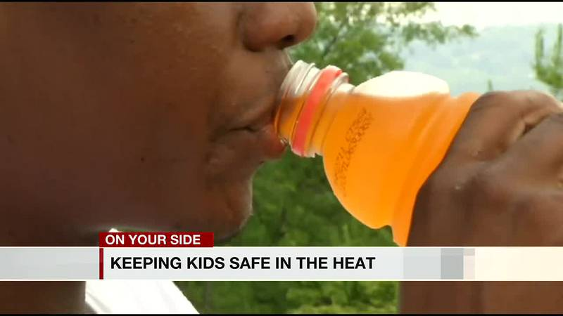 Keeping kids safe in the heat