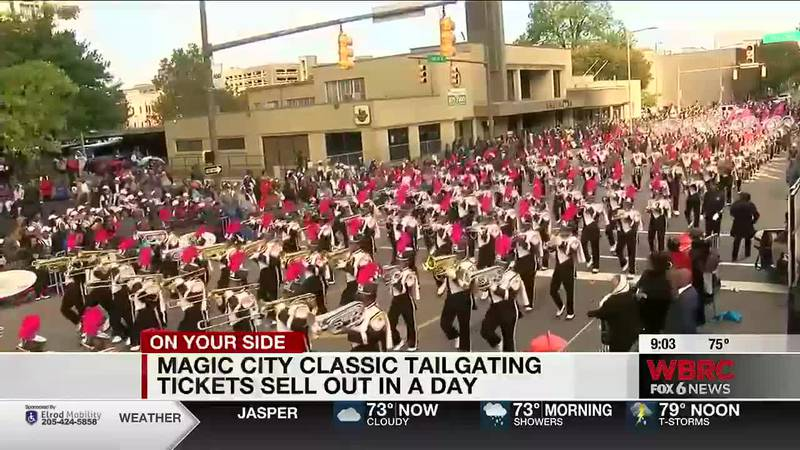 Magic City Classic tailgating tickets sell out