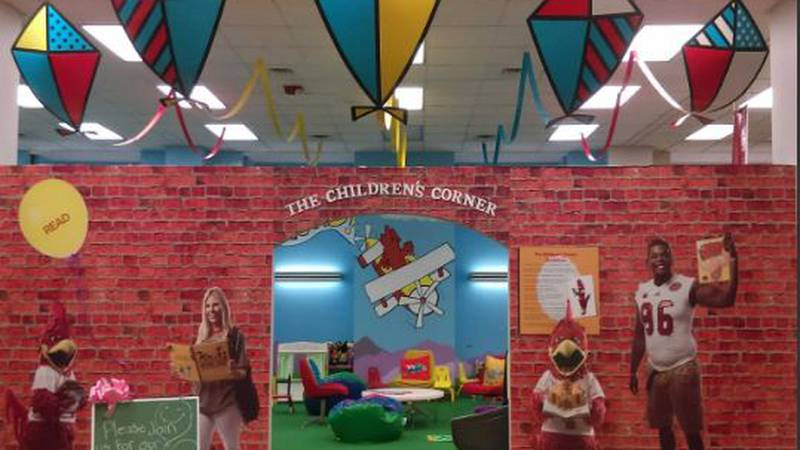 The Houston Cole Library has put together a unique children's corner that is open to the public.